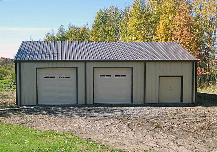 Building Garage Kits Prefab : The versatility of prefabricated steel buildings prefab